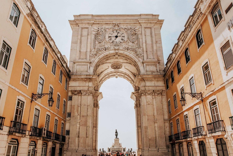 3 Days in Lisbon Arch