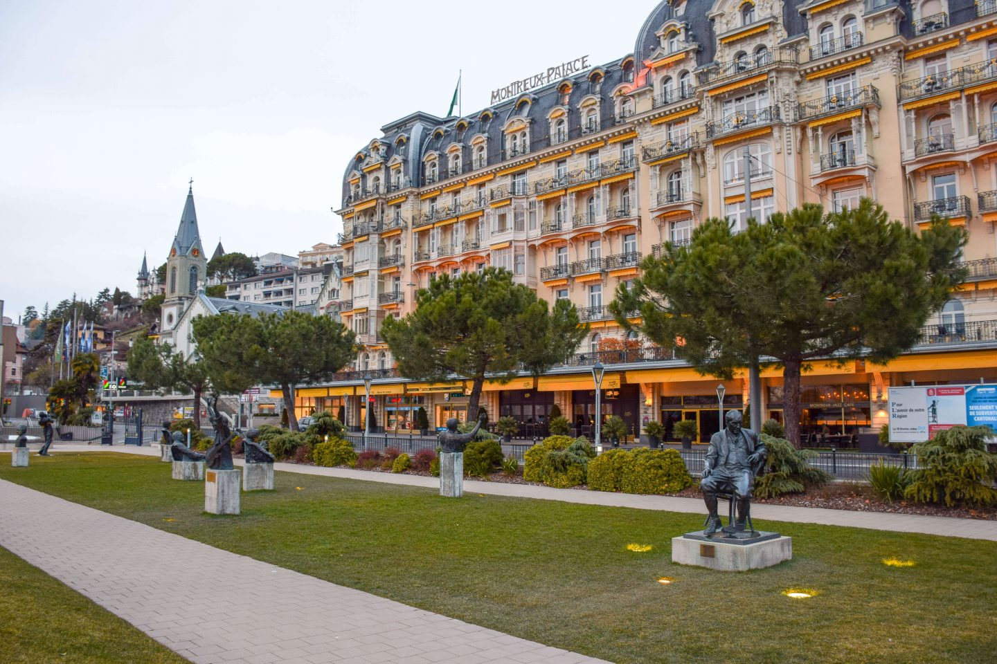 what to see in Montreux Palace