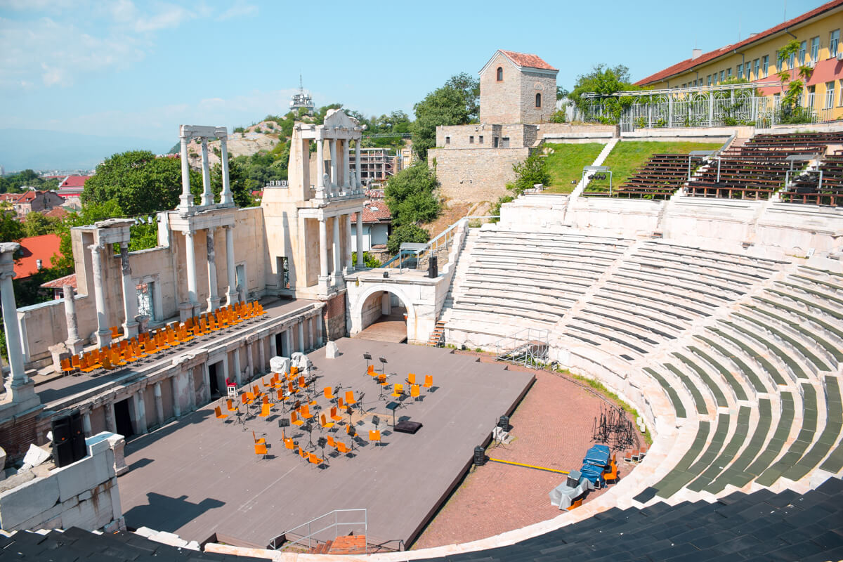 Things to do in Plovdiv Ancient Theatre