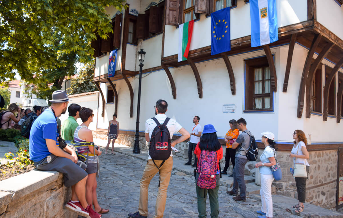 things to do in plovdiv free walking tour