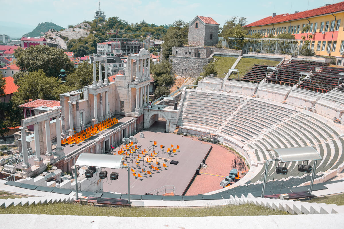 Plovdiv - the oldes city in Europe