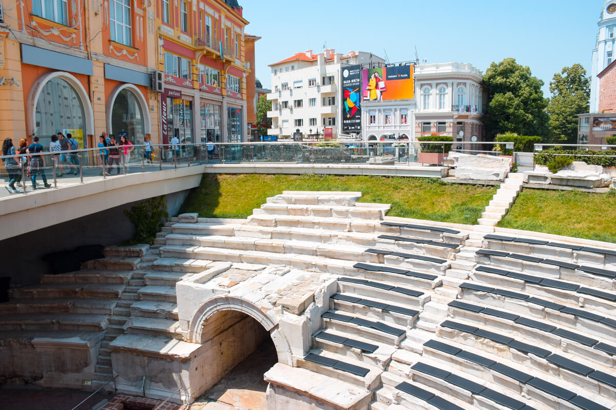 Things to do in Plovdiv Roman stadium