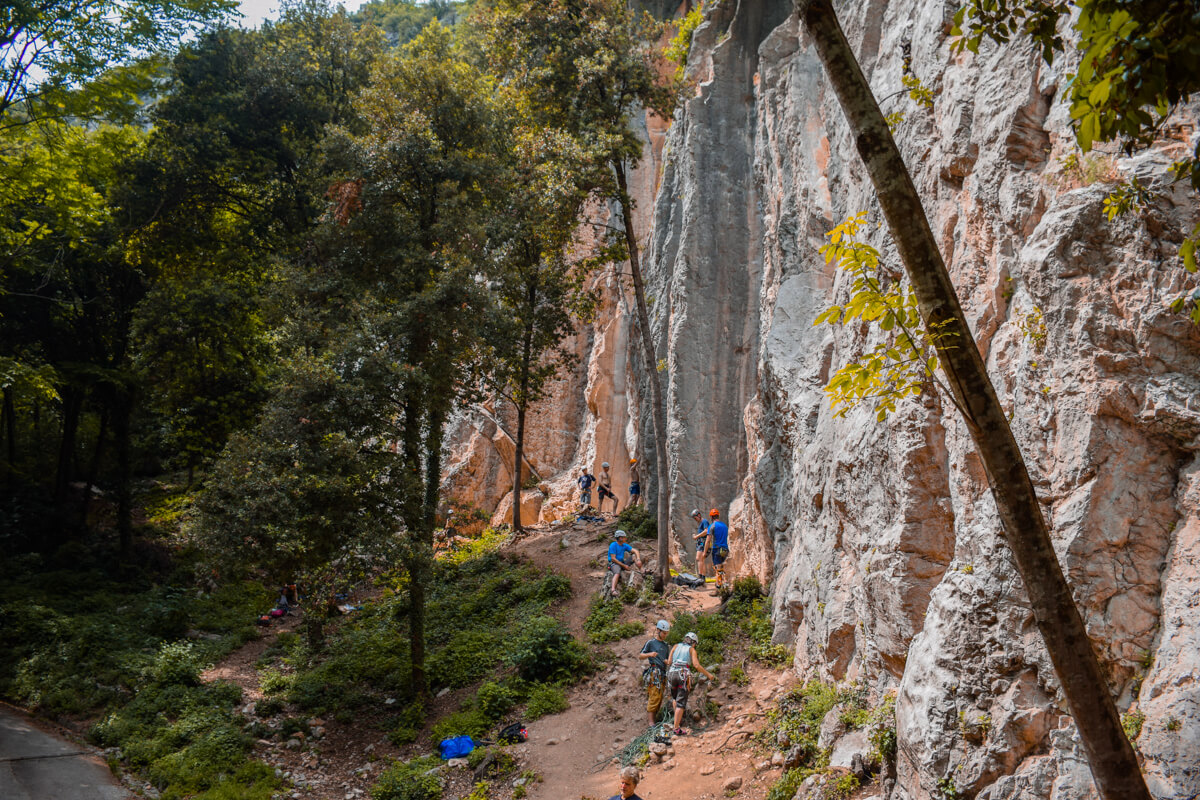 Things to do in Trento rock climbing