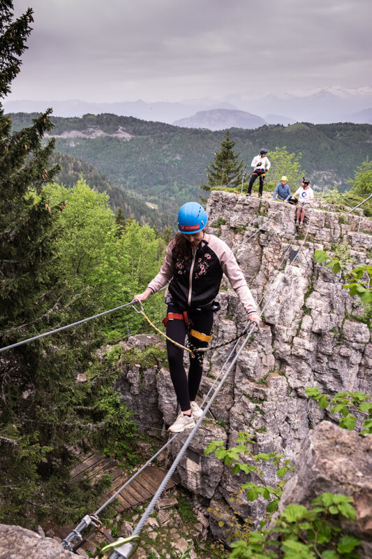 things to do in Trento via ferrata