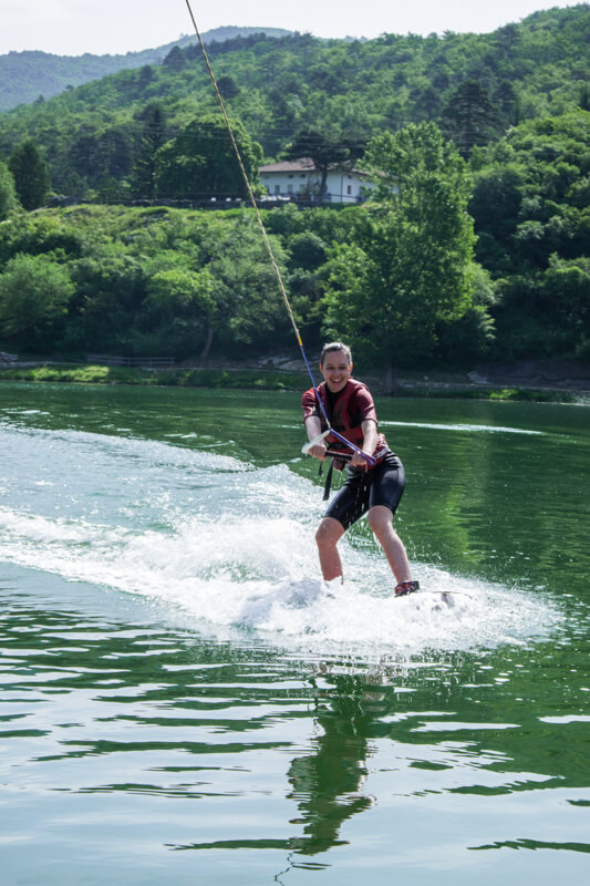 things to do in Trento wakeboarding