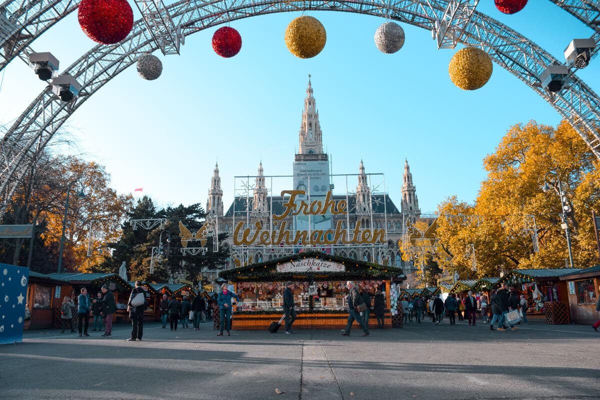 Vienna Christmas Market Rathaus