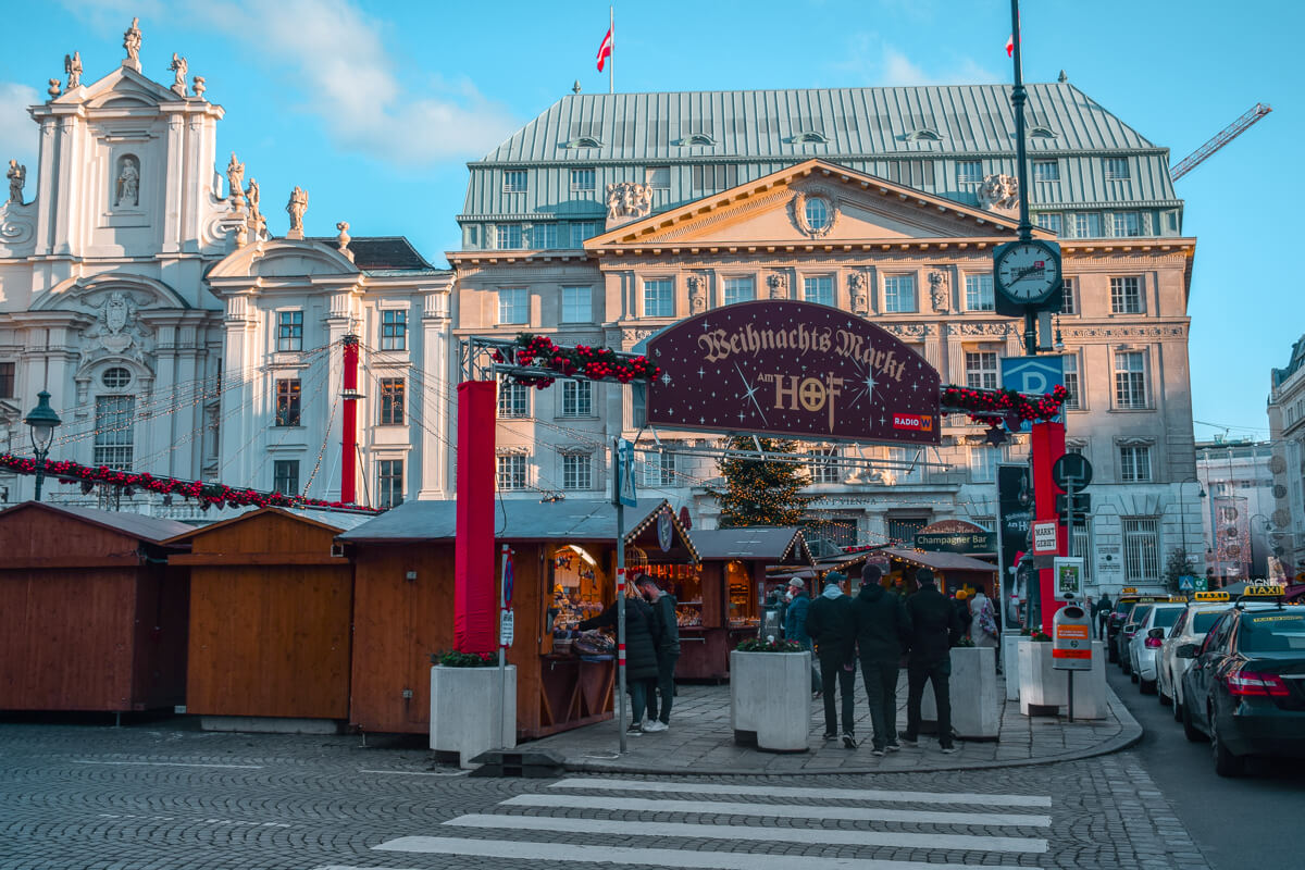 Christmas Market Vienna am Hof