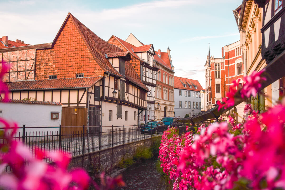 Things to do in Quedlinburg - City center street
