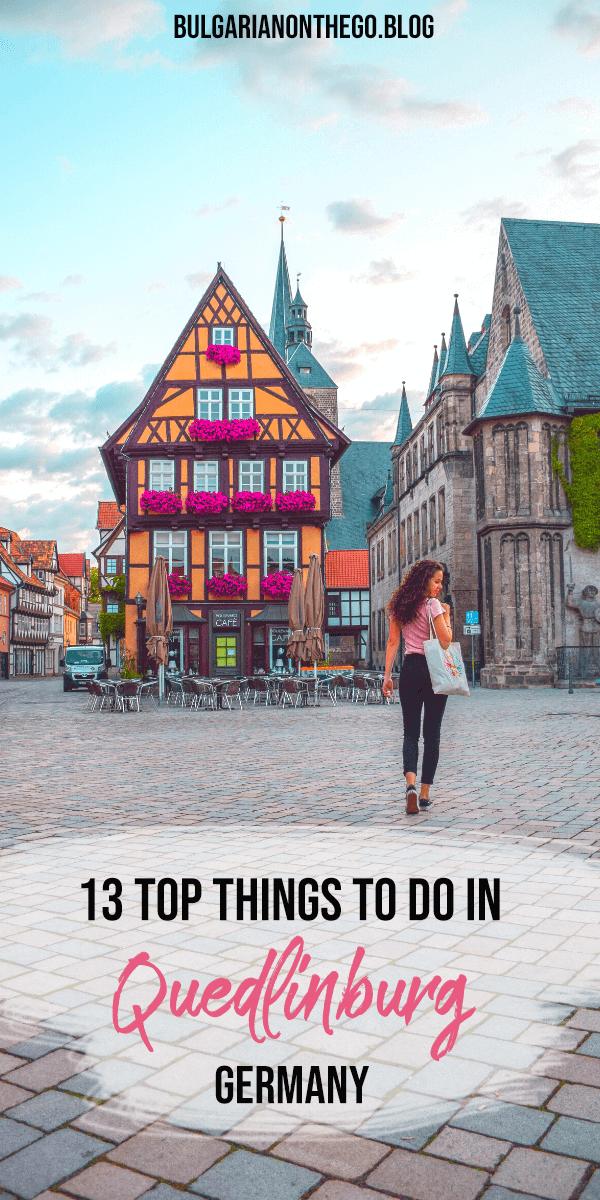 Things to do in Quedlinburg Pin