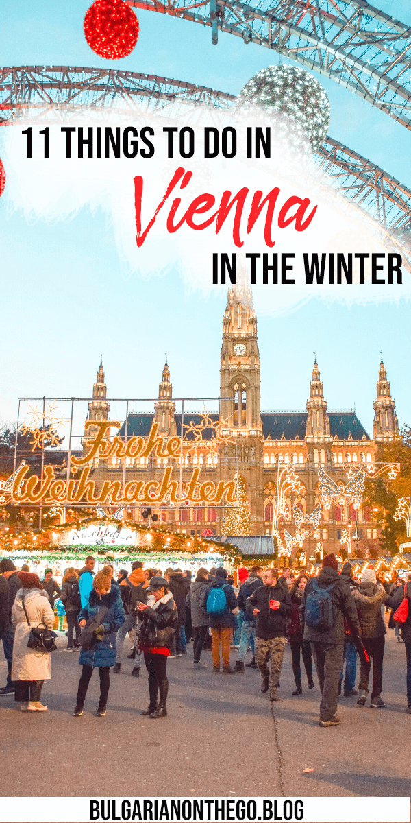 Vienna in December pin