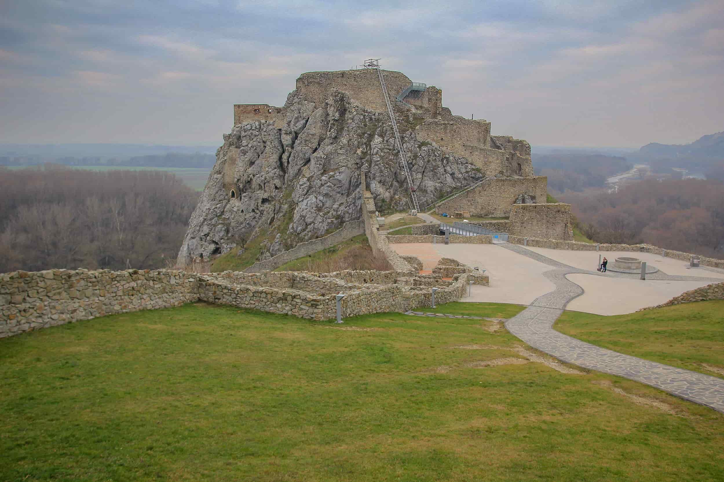 Day trips to Bratislava Devin Castle