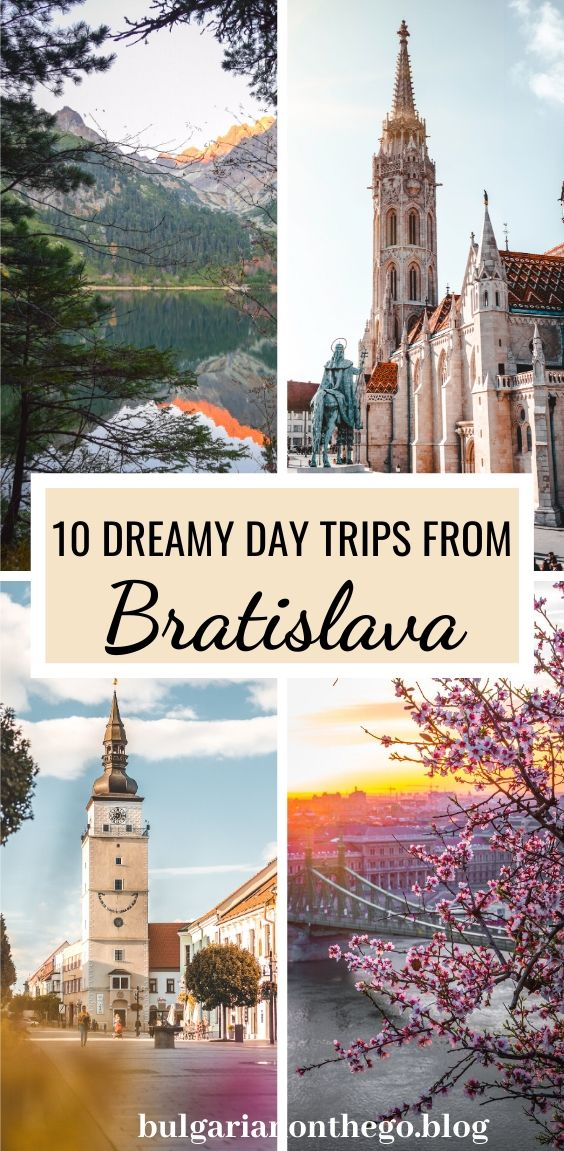 Day trips from Bratislava pin