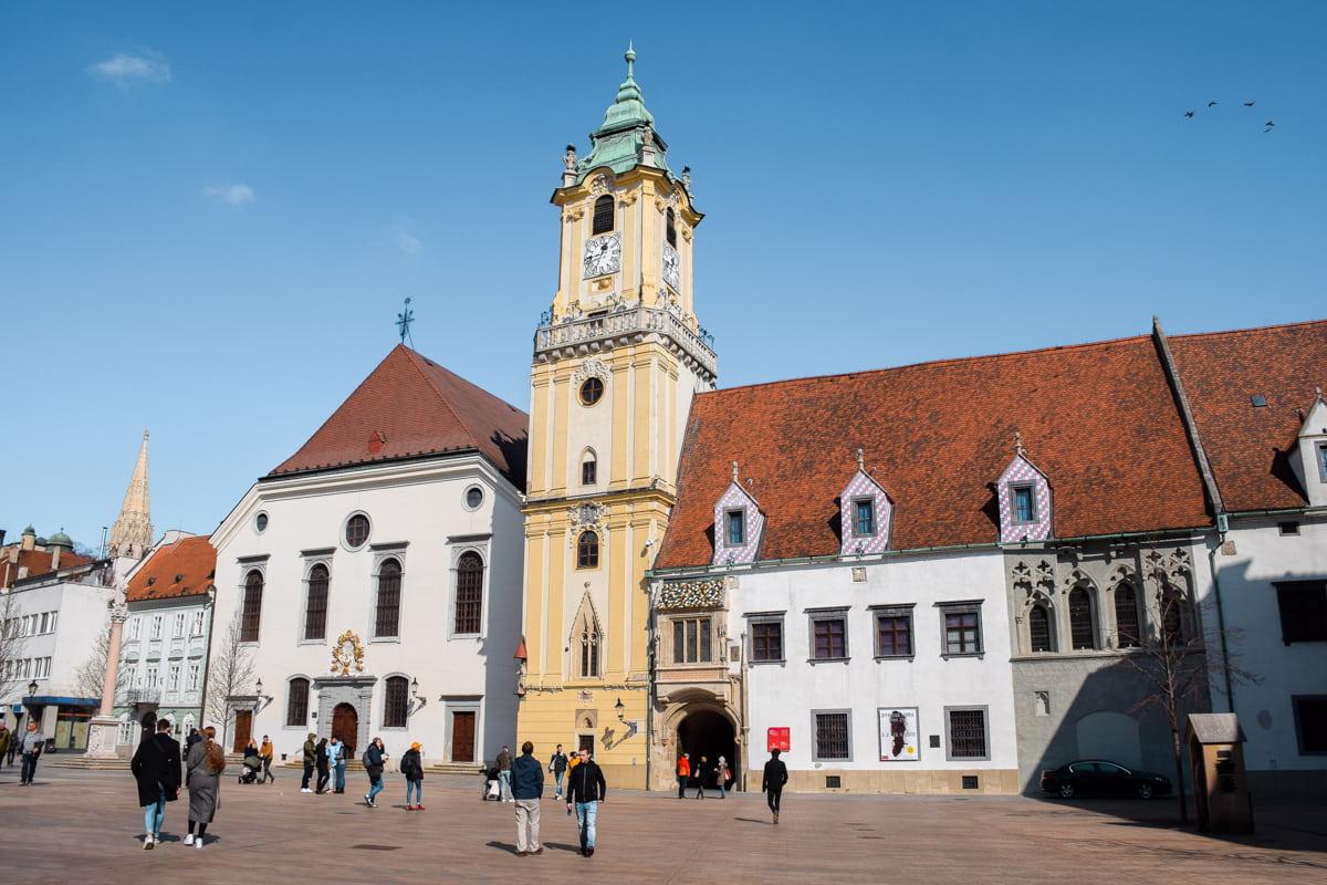 Bratislava Old Town Hall