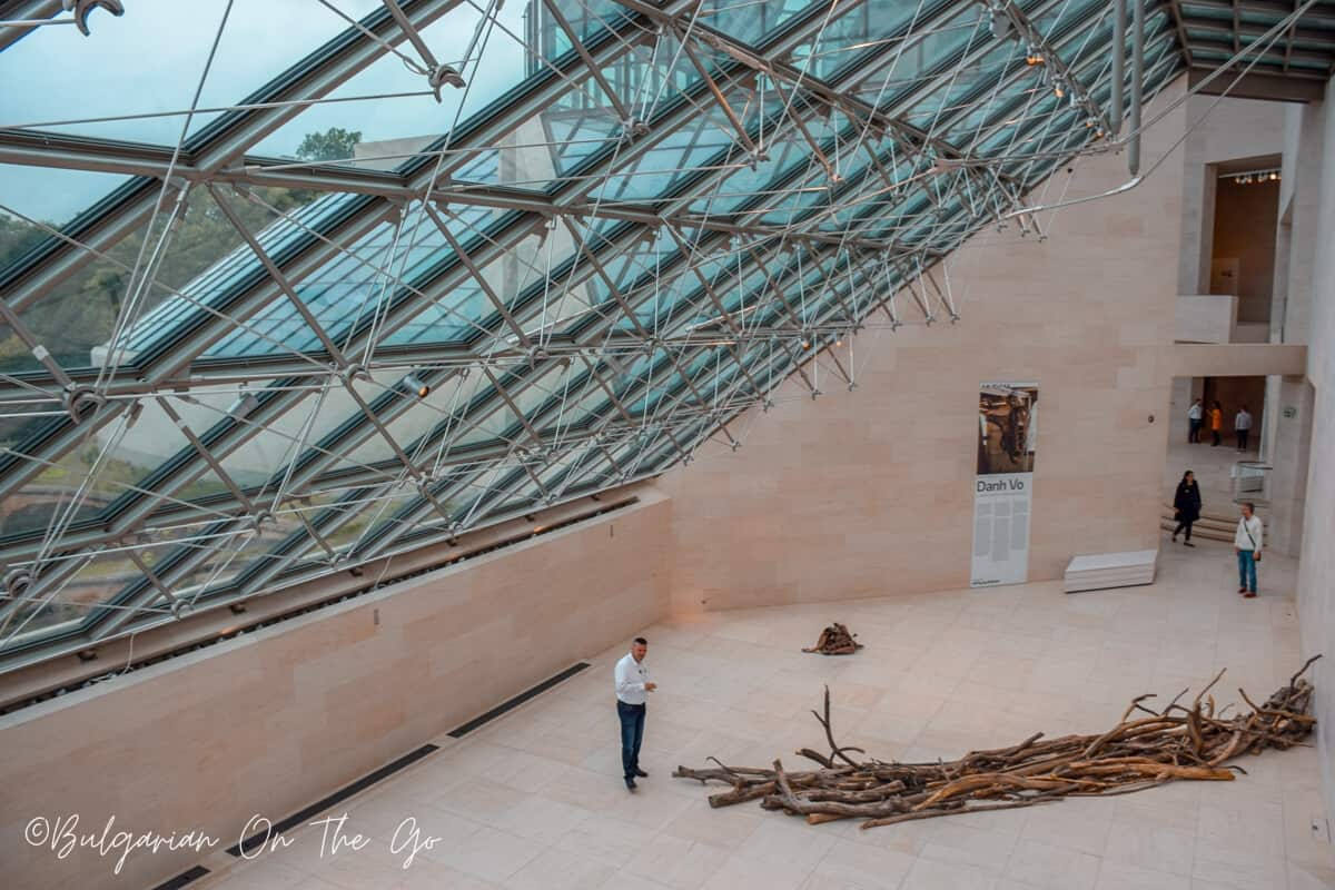 Mudam Museum Luxembourg Inside