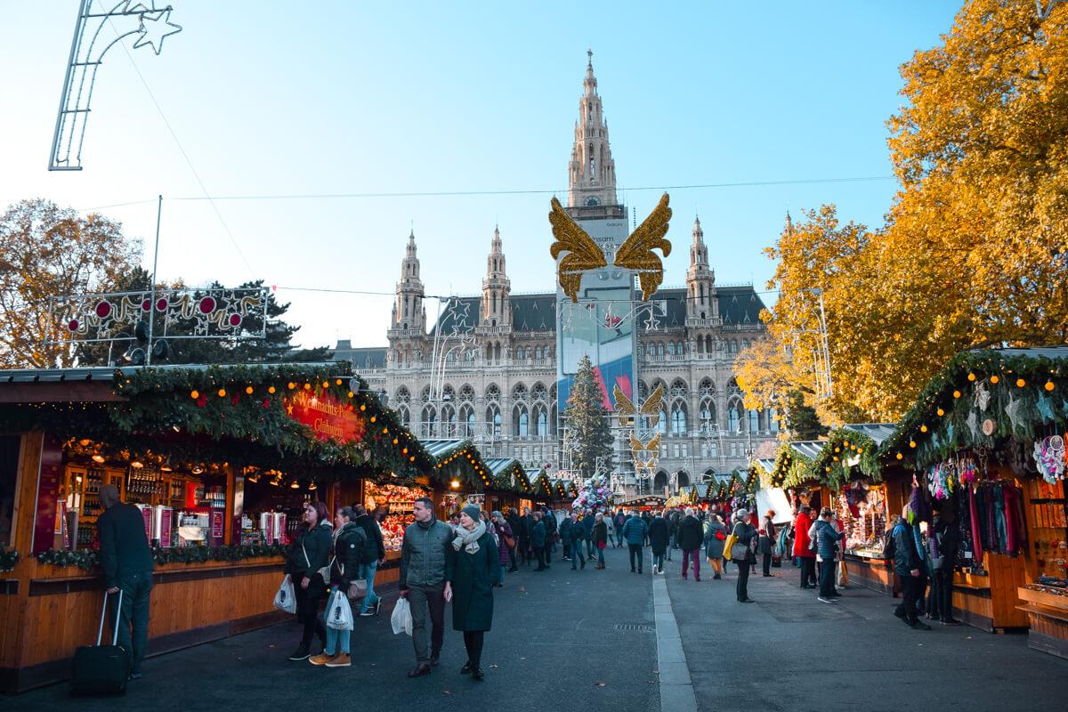 Rathaus Christmas Market Vienna