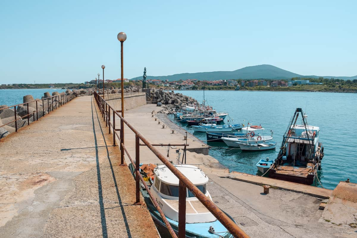 Tsarevo, Bulgaria - the harbour