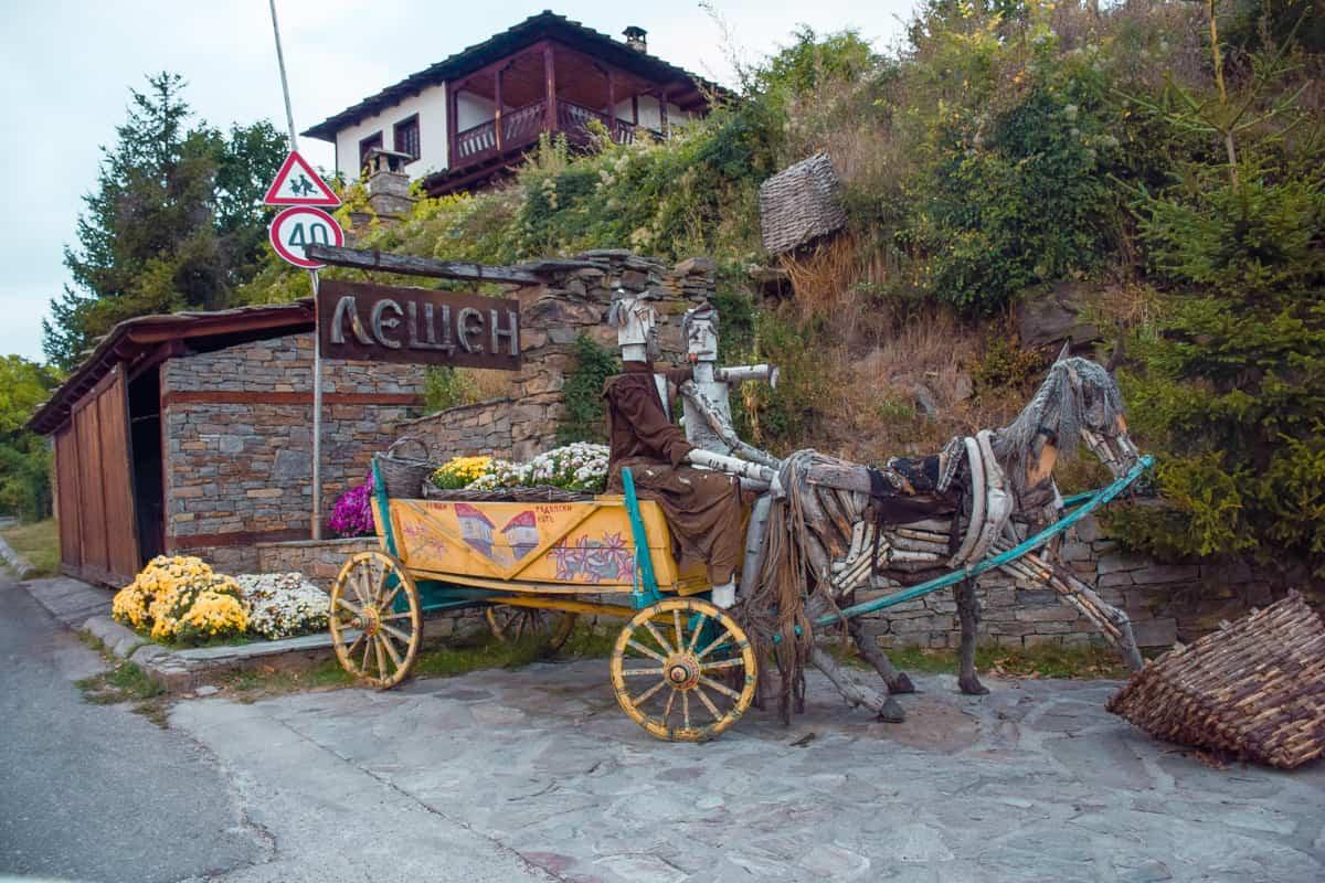 leshten-bulgaria-street