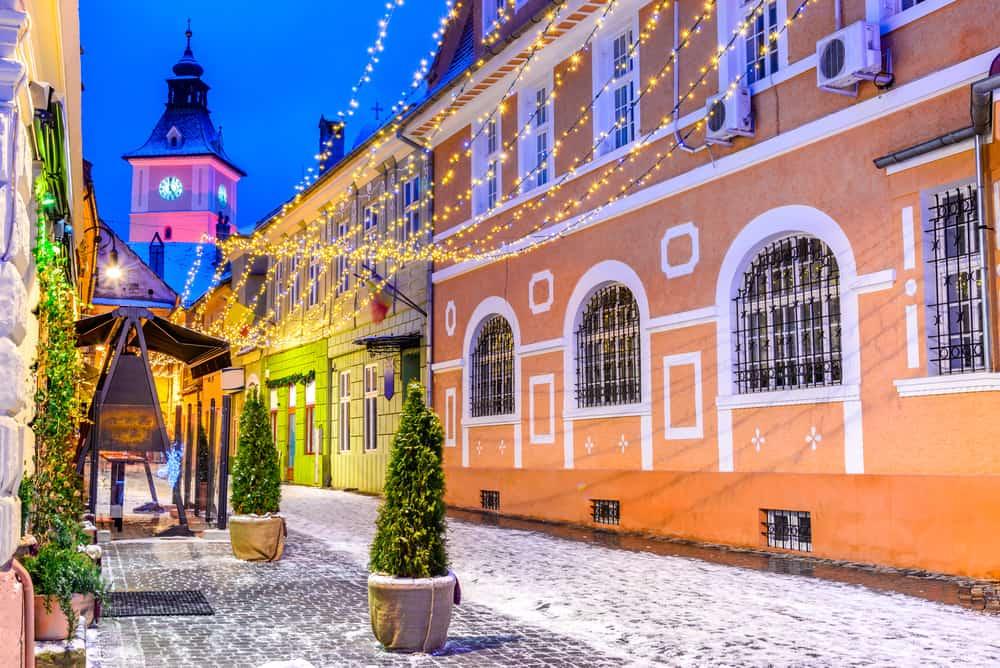 Brasov in winter