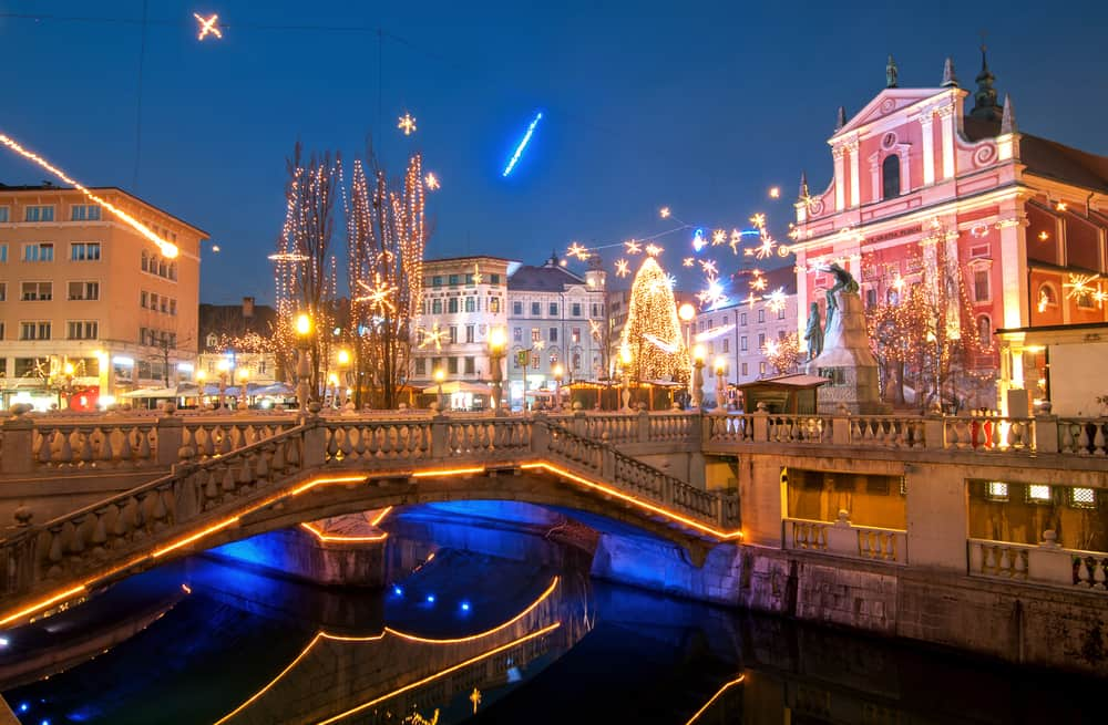 Ljubljana in winter