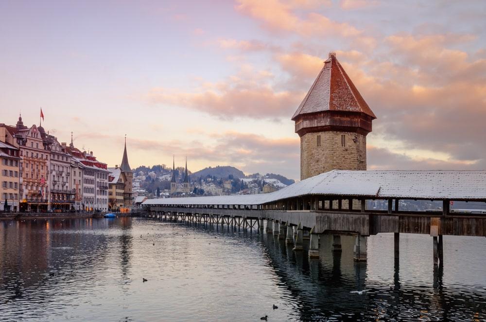Lucerne in Winter