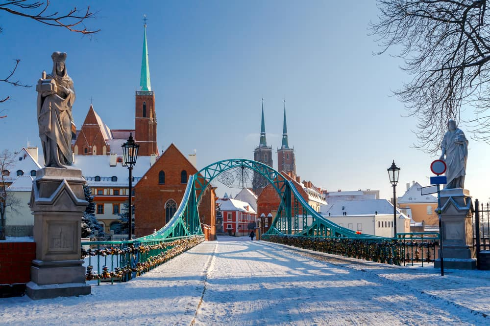 Wroclaw in winter